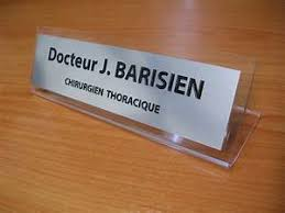 chevalet de bureau personnalisé chevalet de bureau en inox bross