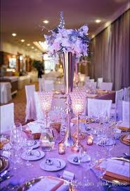 Tall Table Centerpieces by 2017 Elegant Slim Tall Metal Gold Color Flower Vase Wedding Table