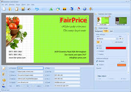 photo card maker business card maker convenient business card software