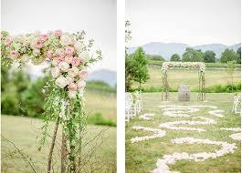 wedding arbors with flowers