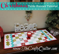 holiday table runner ideas christmas table runner the crafty quilter