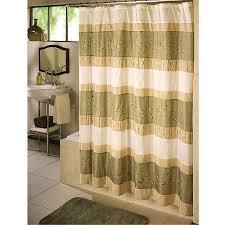 Shower Curtain At Walmart - ex cell home fashions wasabi fabric shower curtain walmart com