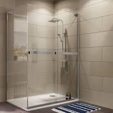 B Q Shower Screens Over Bath Cooke Lewis Grandeur Rectangular Rh Shower Enclosure With Single
