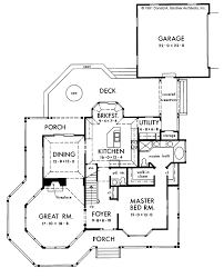 victorian style house plan 4 beds 3 5 baths 2311 sq ft plan 929