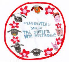 my celebration cake shaun the sheep