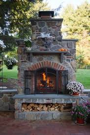 outdoor fireplace ideas pictures the minimalist nyc