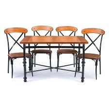 dining room sets chicago baxton studio broxburn 5 piece rectangular dining table set