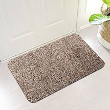 Exterior Door Mat Indoor Absorbs Mud Doormat Backing Non