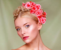 hair flower 30 magnificent updos for medium hair slodive