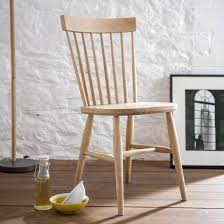 Oak Spindle Back Dining Chairs Spindle Back Dining Chair