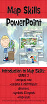 Map Scales Map Skills Powerpoint Map Skills Compass Rose And Compass