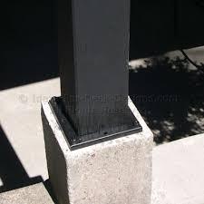 19 deck post base trim planning amp ideas front porch