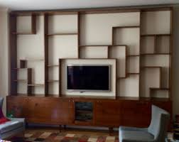 Made Bookcase Wall Bookcase Etsy