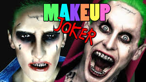 makeup halloween squad joker youtube