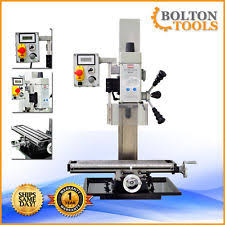 Bench Top Mill Bolton Tools Bench Top Milling Machine Mill Drill Zx45 9 1 2