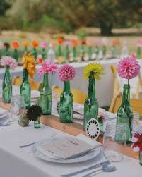 Long Table Centerpieces 23 Totally Chic Vintage Centerpieces Martha Stewart Weddings