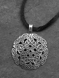 large silver necklace pendants images Pentacle knot large sterling silver celtic pendant by welsh jpg