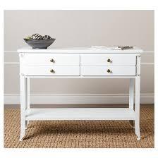 antoni 2 drawer console sofa table antiqued white abbyson living
