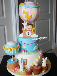 hot air balloon cake topper thecakinggirl fondant cake designs how to