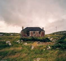 photographer john maher captures decay of remote scottish island