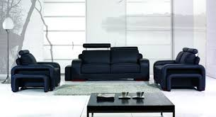 modern sofa sets bentley contemporary black sofa set u2013 padstyle interior design