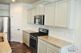 Spraying Kitchen Cabinets We Painted Our Brand New Kitchen Cabinets And Here U0027s How It Turned