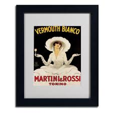 martini rossi poster trademark fine art 11 in x 14 in
