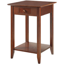 convenience concepts american heritage end table multiple