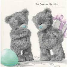 me to you bears someone special birthday card softy drawn