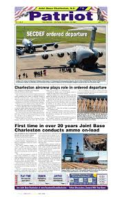 charleston afb housing floor plans april 51 may 5 2016 the patriot joint base charleston by