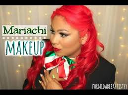 mariachi hairstyles mariachi makeup tutorial talk thru youtube