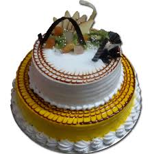 fresh fruit online order 2 tier fresh fruit cake online faridabadcake