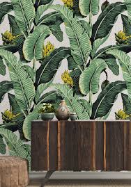 Jungle Home Decor by Jungle Palm Wallpaper Two Rolls In Natural From The Kingdom Home