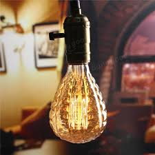 e27 40w grenade vintage antique edison filament bulb light 220v