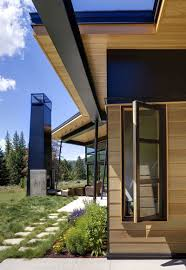 montana house river bank house by balance associates architects