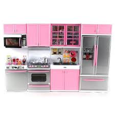 kitchen unboxing new barbie kitchen set deluxe modern toy
