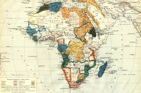 Africa Maps by Vintage Map Of Africa Wall Mural Muralswallpaper Co Uk