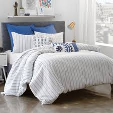 Pink Striped Comforter Modern Striped Bedding Sets Allmodern
