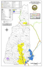 New Hampshire State Map by New Hampshire Public Utilities Commission