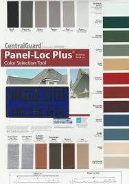 Valspar Colour Chart Amsco Steel Colors Charts