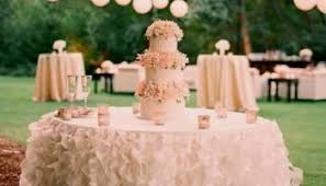 Wedding Cake Table Round with Lights