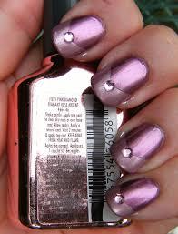 deez nailz super chrome anemone diamond u0026 firey pink diamond