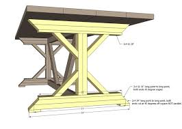 Make A Picnic Table Free Plans by Best 25 Farmhouse Table Plans Ideas On Pinterest Diy Farmhouse