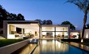 bauhaus home contemporary prefab house in the bauhaus style with glass facade and