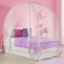 Shabby Chic Twin Bed by Canopy Bed For Girls Shabby Chic Frame Princess Bedroom Furniture