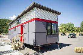 cheapest tiny homes aspen skiing co shows model tiny home to prospective employees