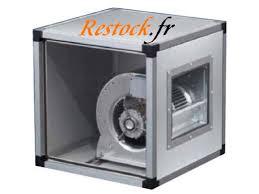 hotte professionnelle cuisine moteur et caisson de ventilation restock