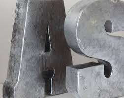 impressive ideas large metal wall letters superb industrial letter