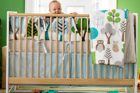 Boy Owl Crib Bedding Sets Boy Crib Bedding Sets At Home And Interior Design Ideas