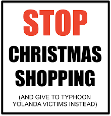 help with christmas stop christmas shopping and other different ideas to help typhoon